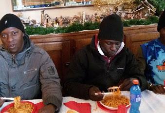 Pranzo di Natale in Comunità