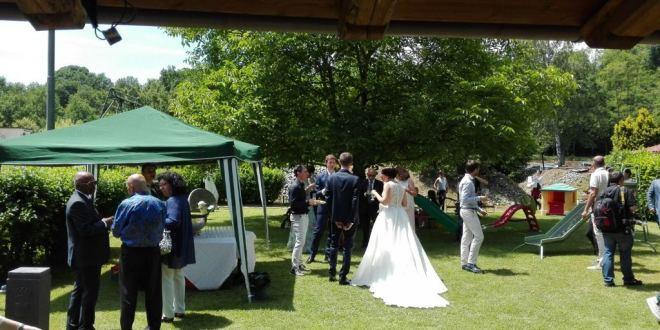 Molin Camillo, festa di matrimonio per un nipote di don Luigi